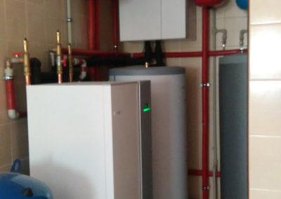 Pompa ciepła NIBE F1145 17kw plus chłodzenie pasywne - Wesoła, 2016 r.