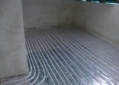 Ogrzewanie podłogowe - dom jednorodzinny Prażmów