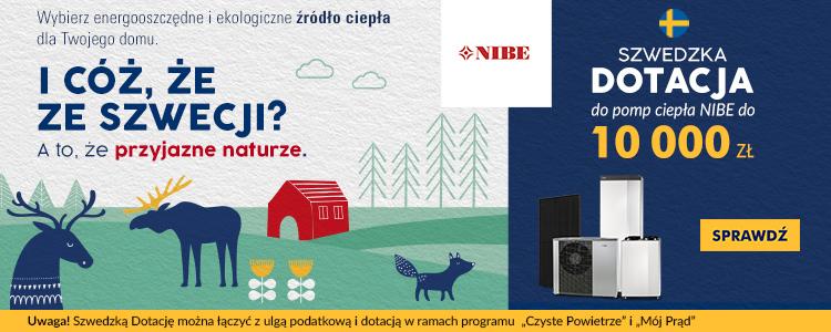 Nowa dotacja do pomp ciepła NIBE